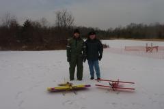 December Snow Flying 2005