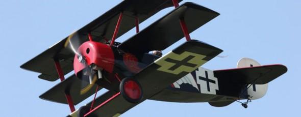Best of Show — 45% Fokker Triplane